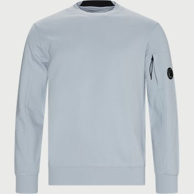 Lens Logo Crew Neck Sweatshirt Regular | Lens Logo Crew Neck Sweatshirt | Blå