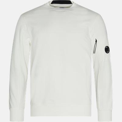 Lens Logo Crew Neck Sweatshirt Regular | Lens Logo Crew Neck Sweatshirt | Hvid