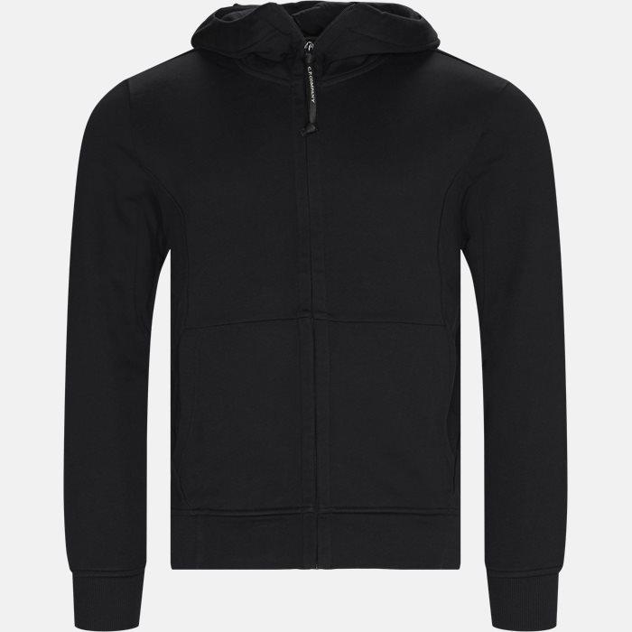 Goggle Hood Sweatshirt - Sweatshirts - Regular - Sort