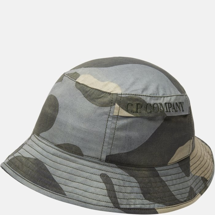 Camo Bucket Hat - Huer - Army