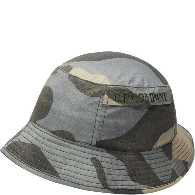 Image of   C.P. Company Camo Bucket Hat Camo