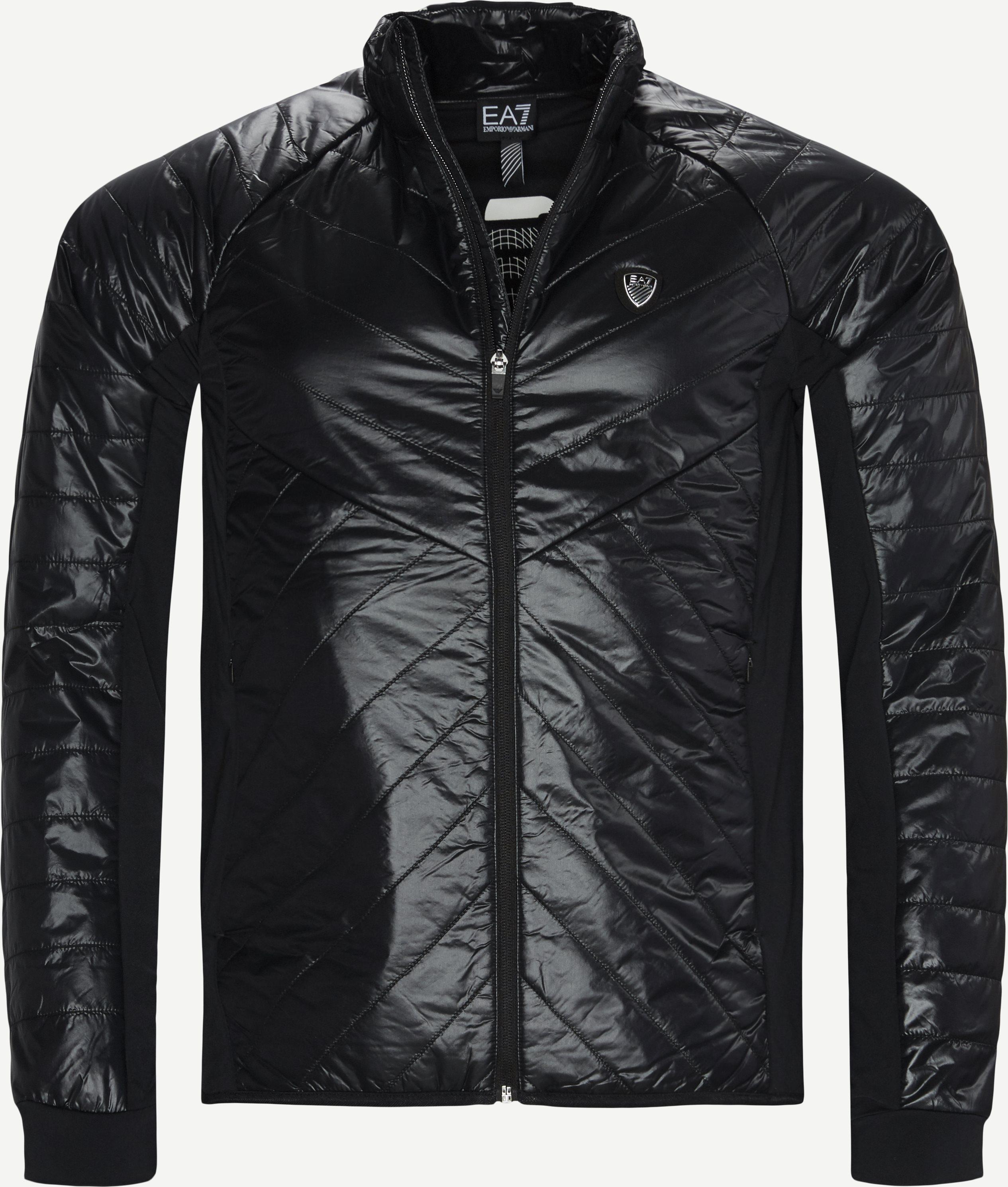 PN34Z  Zip Sweatshirt - Sweatshirts - Regular - Sort