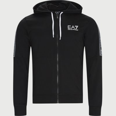 Logo Zip Sweatshirt Regular | Logo Zip Sweatshirt | Sort