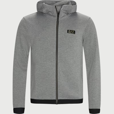 PJ4EZ Zip Sweatshirt Regular | PJ4EZ Zip Sweatshirt | Grå