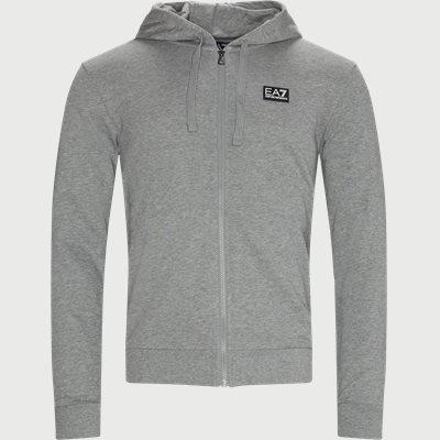 PJ8BZ Zip Sweatshirt Regular | PJ8BZ Zip Sweatshirt | Grå