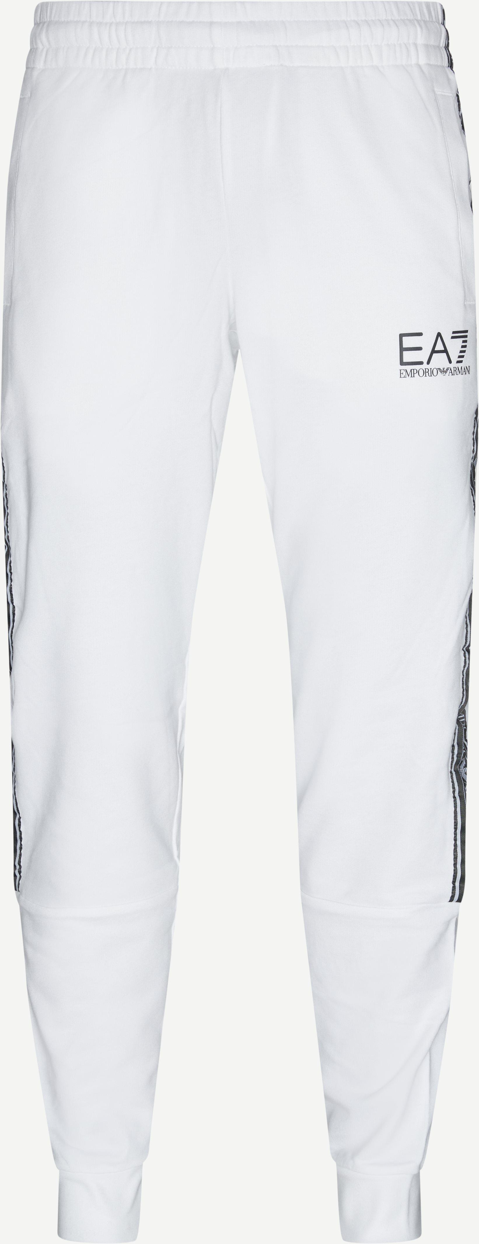 Logo Sweatpants - Bukser - Regular - Hvid