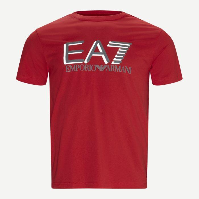 PJM9Z Logo T-shirt - T-shirts - Regular - Rød
