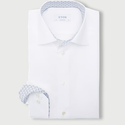 2567 Poplin Skjorte 2567 Poplin Skjorte | Hvid