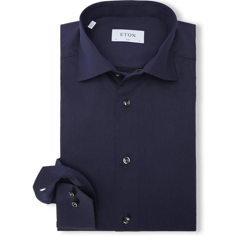 eton Eton - 3127 twill skjorte på kaufmann.dk