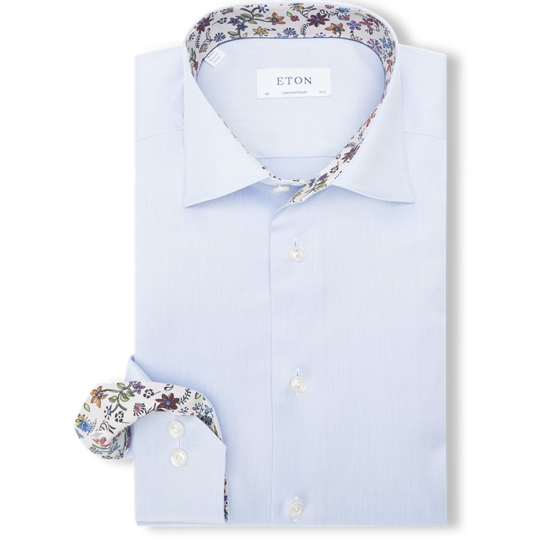 eton – Eton - 3000 signature twill skjorte fra kaufmann.dk