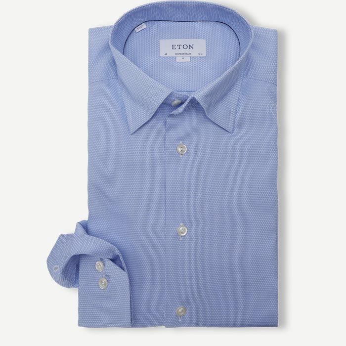 3122 Twill Skjorte - Skjorter - Blå