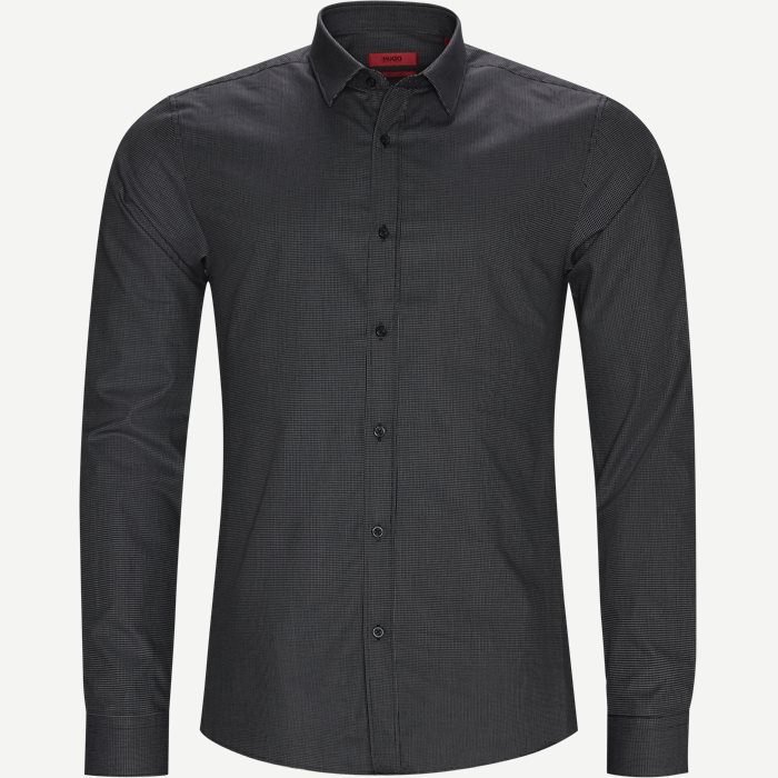 Shirts - Ekstra slim fit - Black