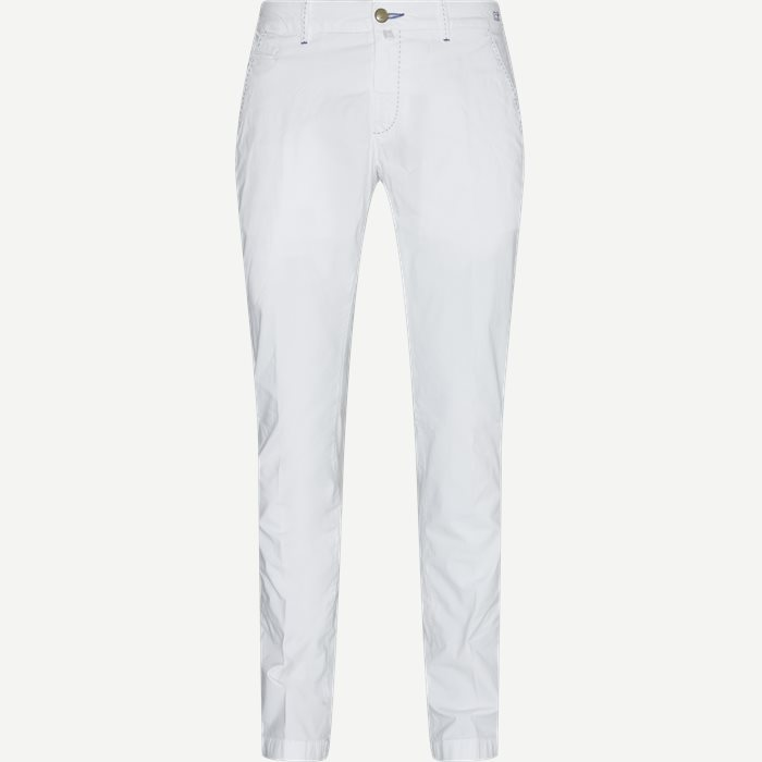 Trousers - Slim - White