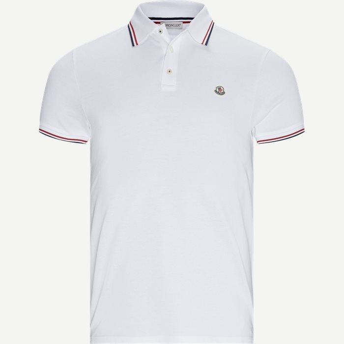 T-shirts - Regular fit - Hvid