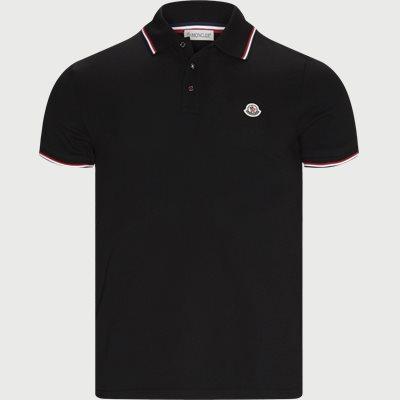 Maglia Polo Manica T-shirt Regular | Maglia Polo Manica T-shirt | Sort