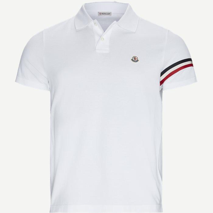 Maglia Polo Manica C T-shirt - T-shirts - Regular - Hvid