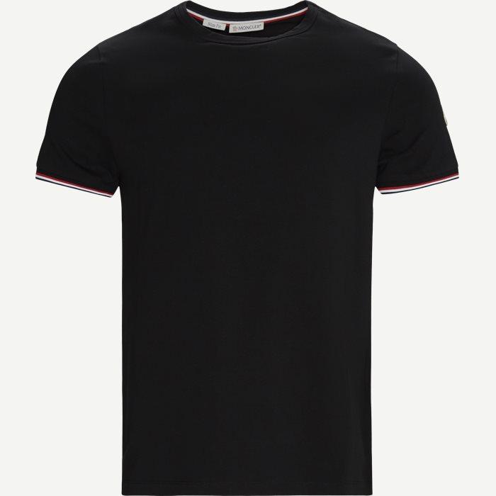 Maglia T-shirt - T-shirts - Slim - Sort