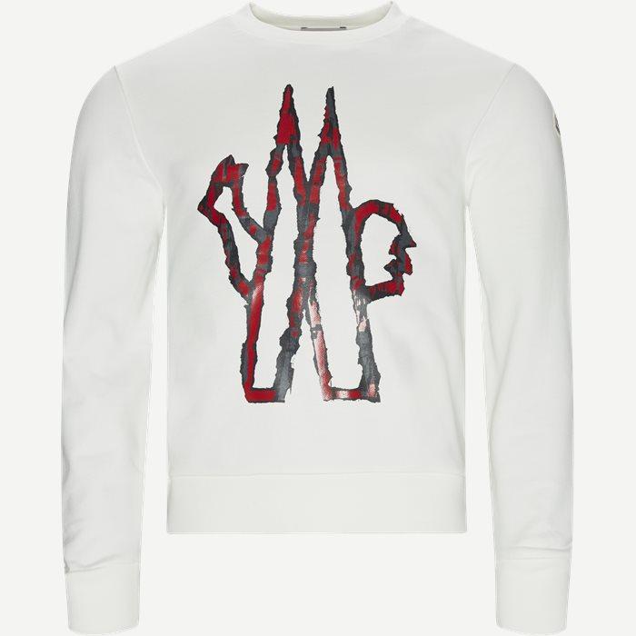 Maglia Girocollo Crewneck Sweatshirt - Sweatshirts - Regular - Hvid