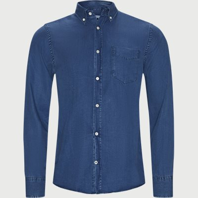 Levon Skjorte Regular | Levon Skjorte | Denim