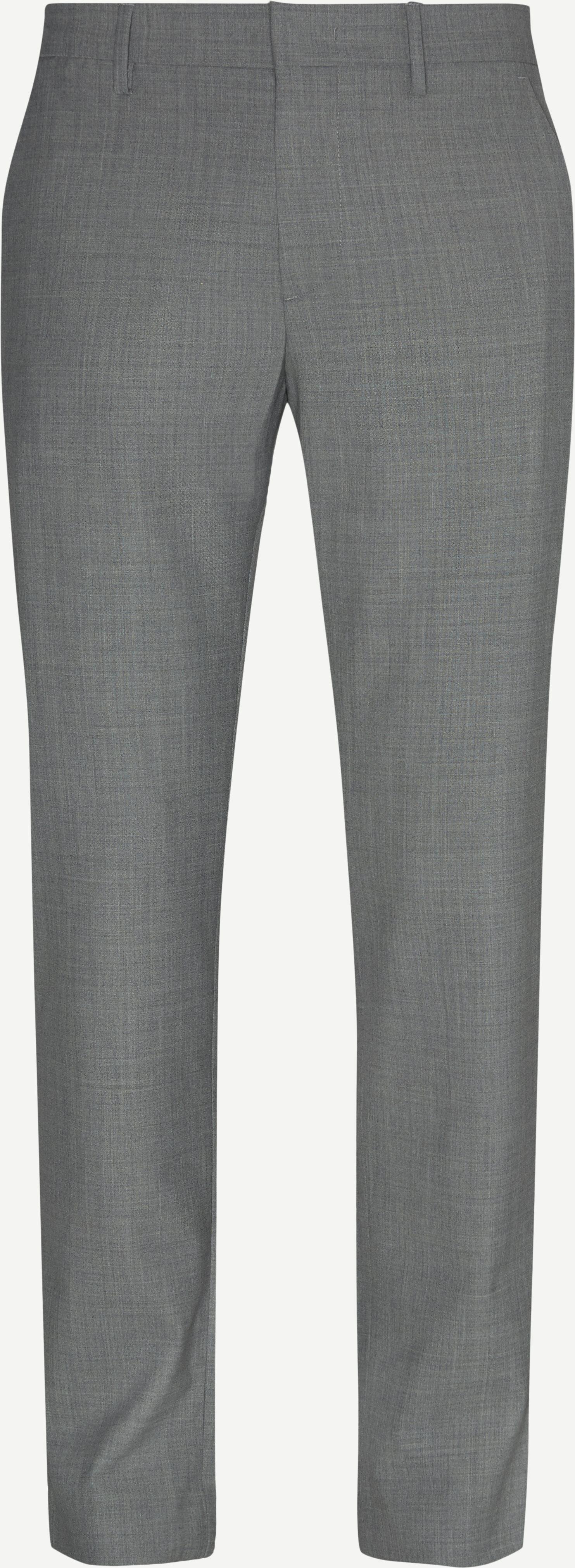 Hosen - Regular - Grau