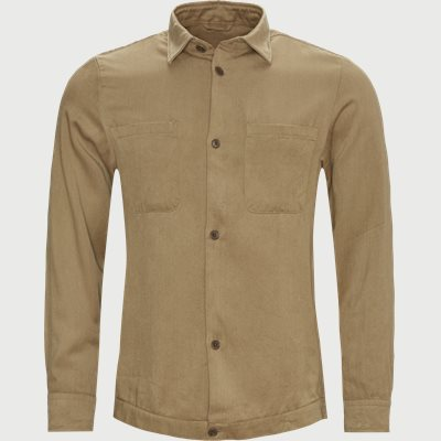 Drake 1363 Overshirt Relaxed fit | Drake 1363 Overshirt | Sand