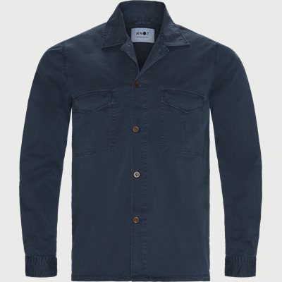 Berner Overshirt Regular | Berner Overshirt | Blå