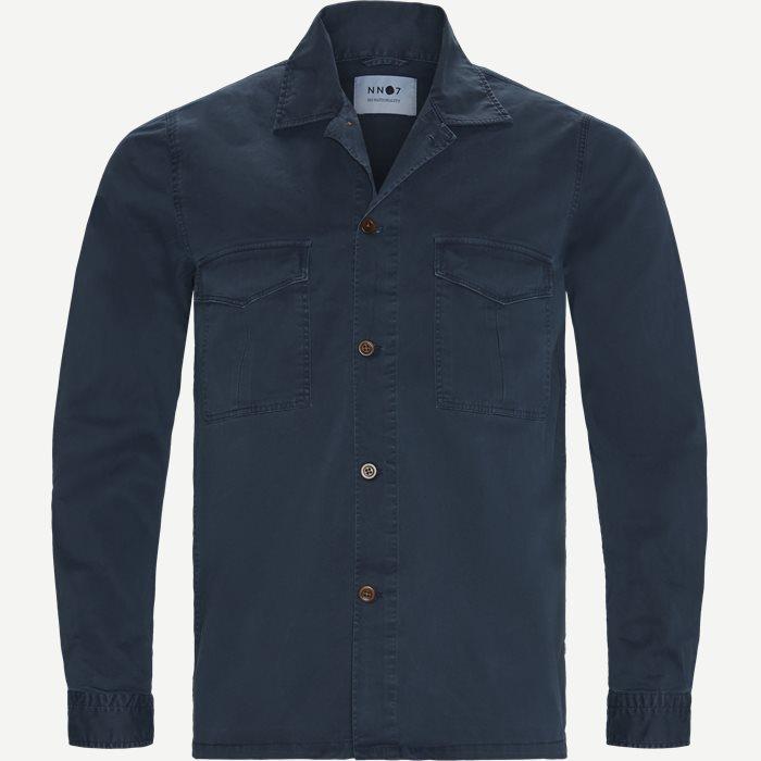 Berner Overshirt - Skjorter - Regular - Blå