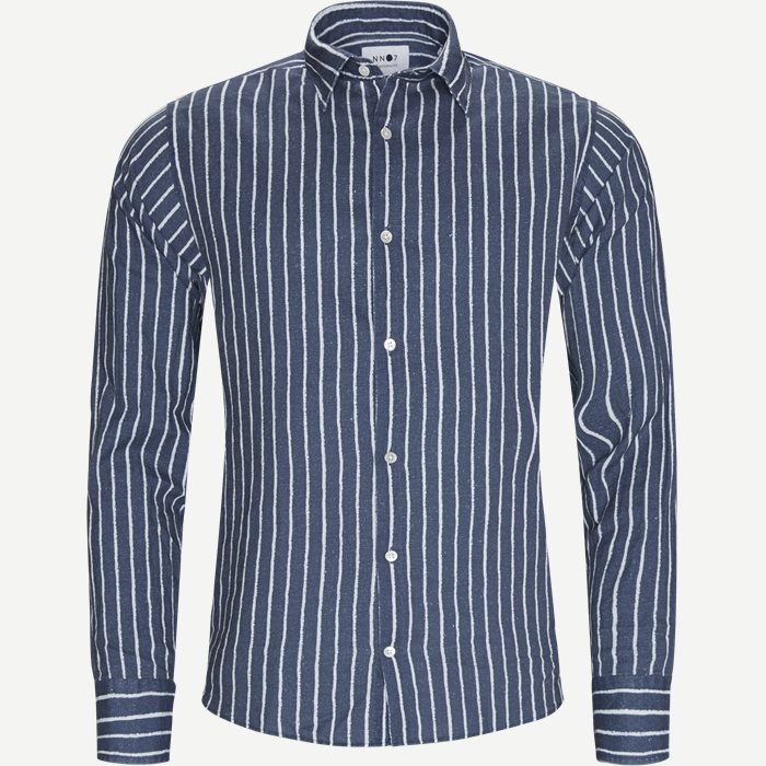 Errico Shirt - Skjorter - Regular - Blå