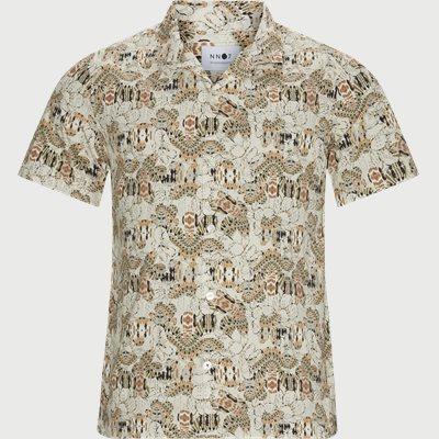 Regular | Short-sleeved shirts | Sand