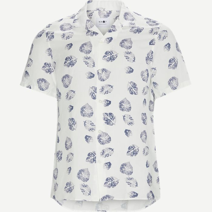 Myagi Kortærmet Skjorte - Kortærmede skjorter - Regular - Hvid