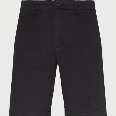 Regular | Shorts | Svart