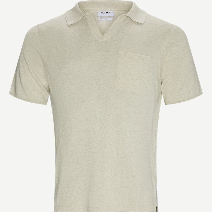 Ryan Polo T-shirt - T-shirts - Regular - Sand