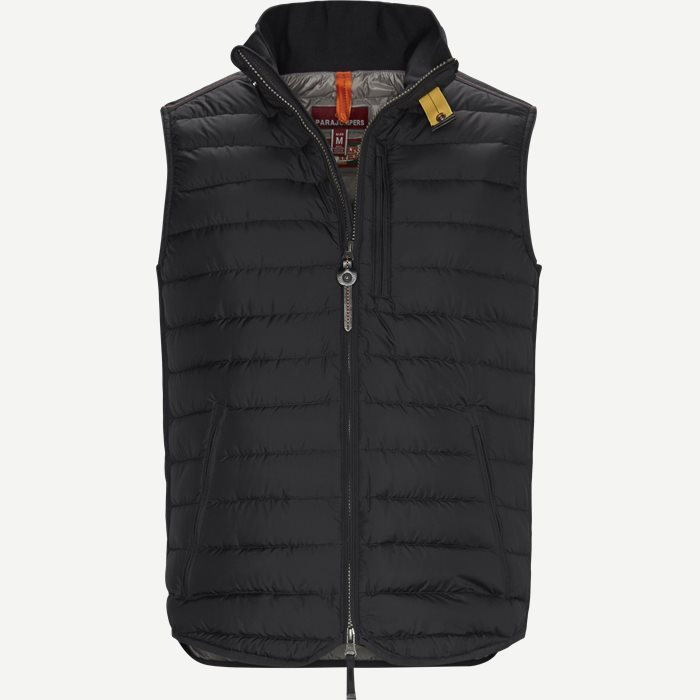 Perfect Down Vest - Veste - Regular - Sort