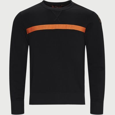 Regular | Sweatshirts | Svart