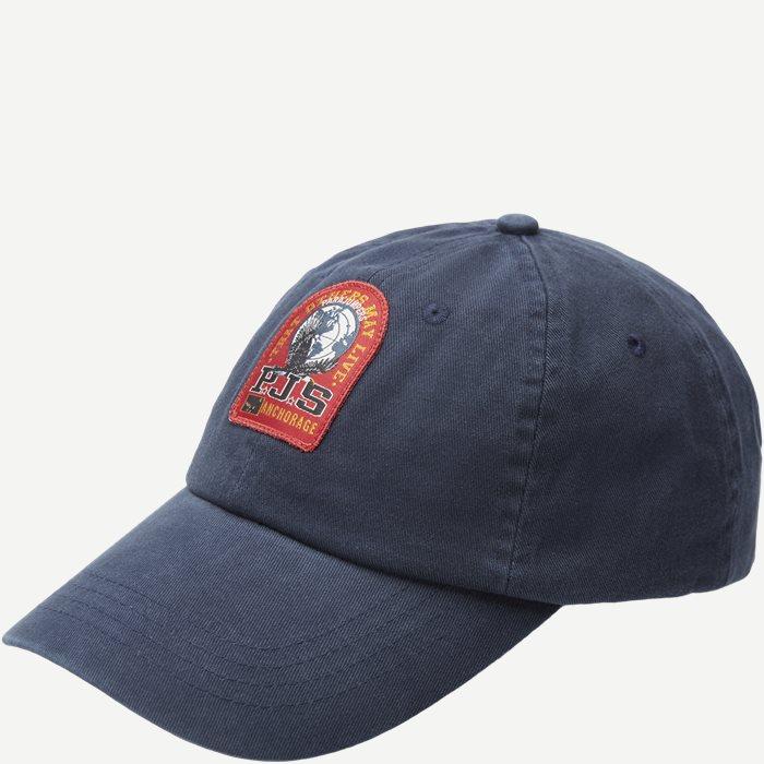 Hao2 Patch Cap - Caps - Blå