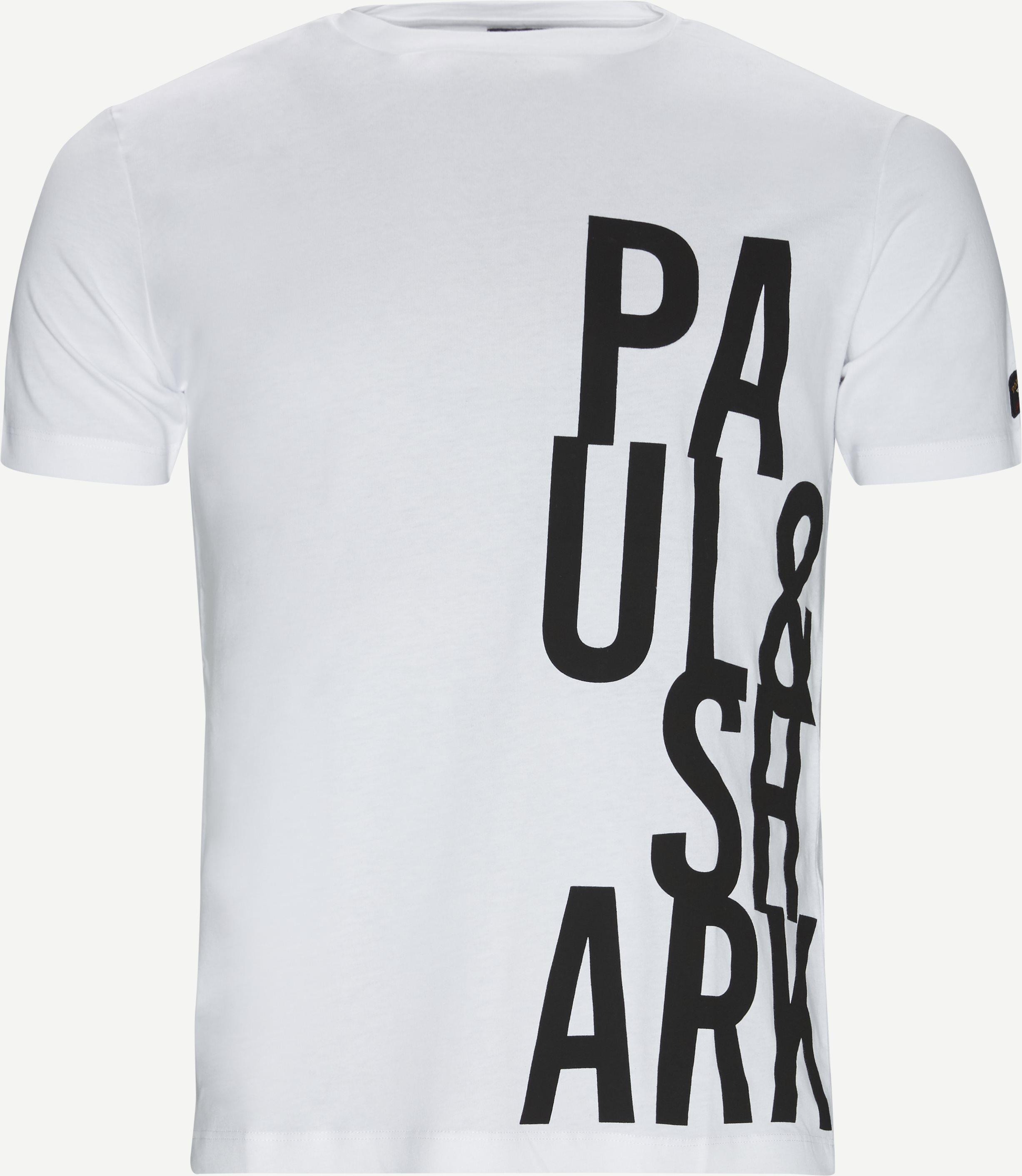 Ezop T-shirt - T-shirts - Regular fit - Hvid