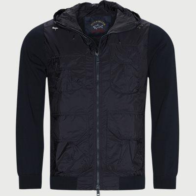 PZOP Zip Sweatshirt Regular | PZOP Zip Sweatshirt | Blå