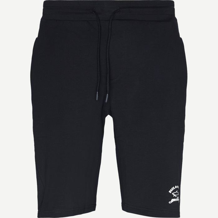 Logo Sweatshorts - Shorts - Regular - Blå