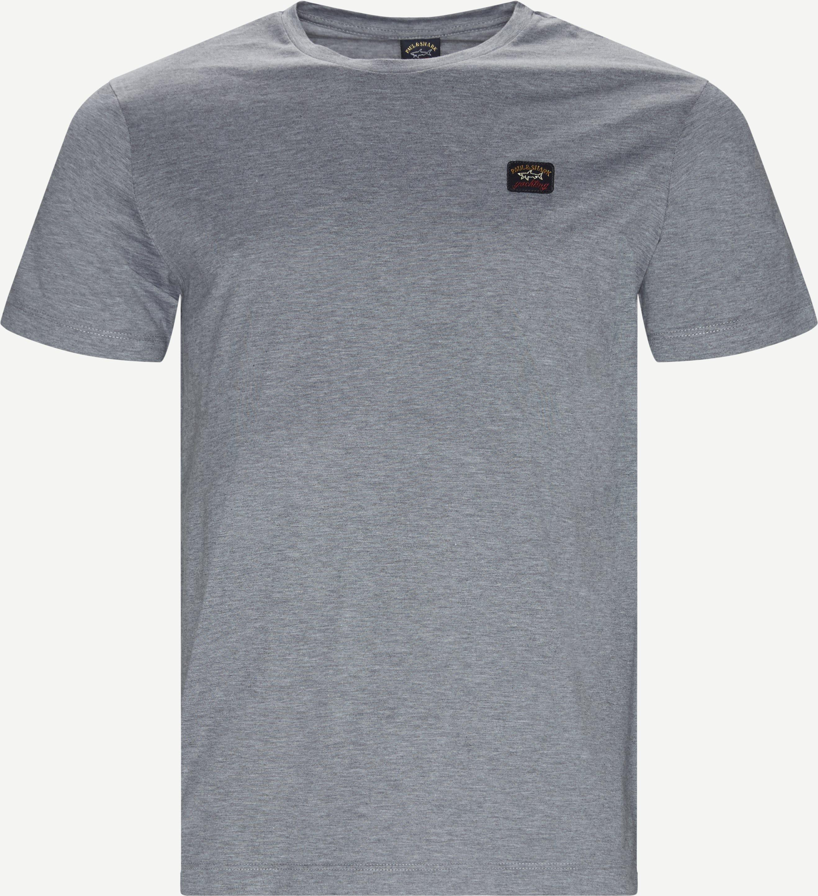 Cop T-shirt - T-shirts - Regular fit - Grå