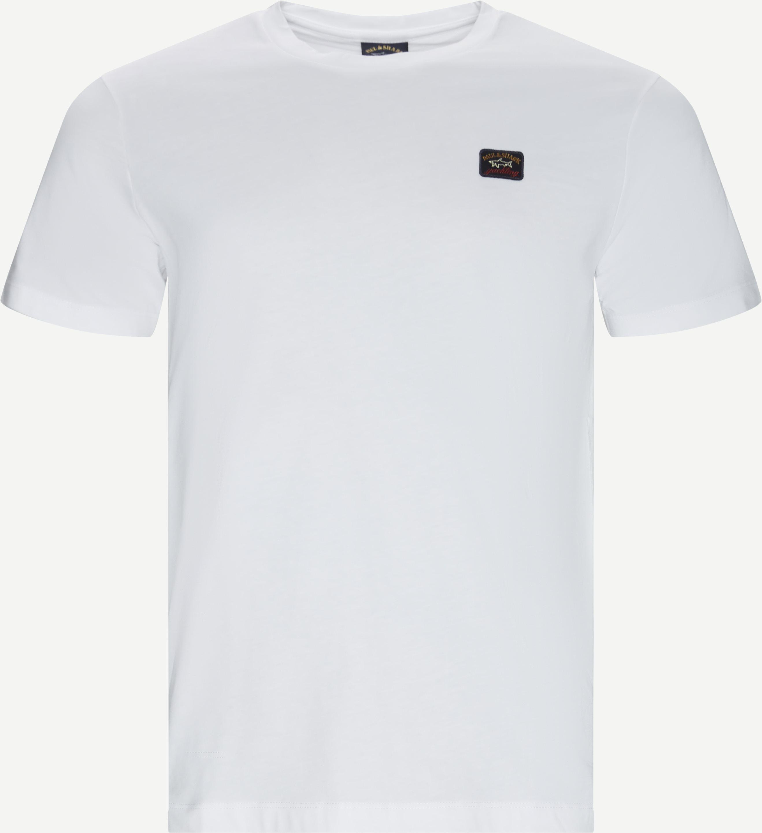 Cop T-shirt - T-shirts - Regular fit - Hvid