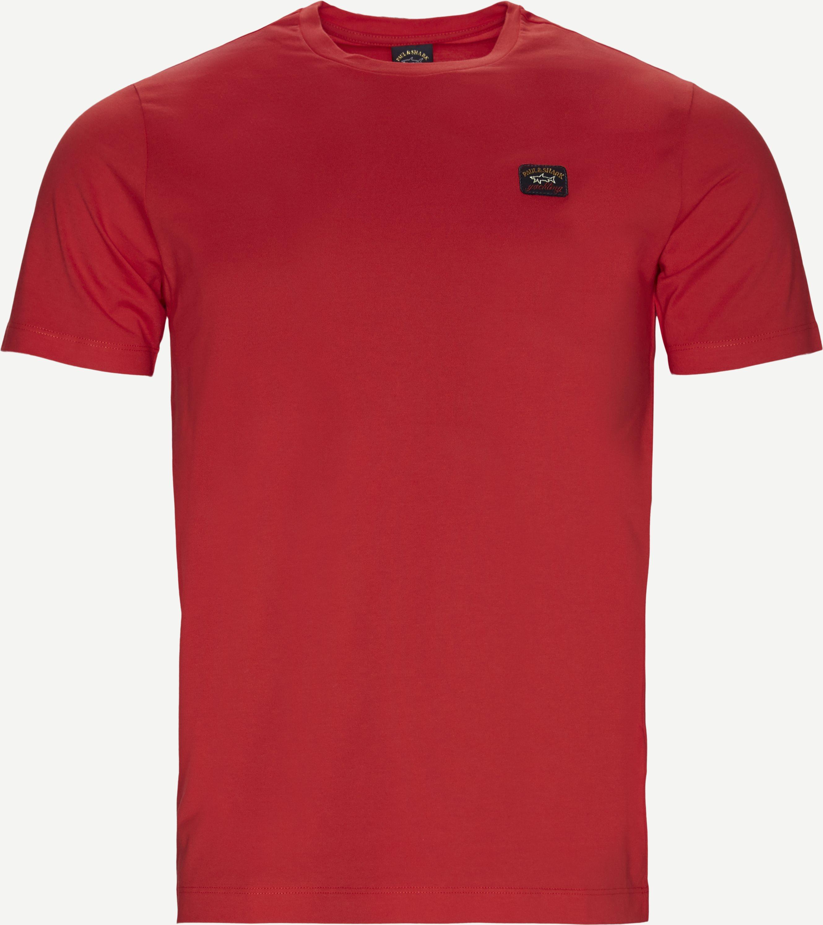 Cop T-shirt - T-shirts - Regular fit - Rød