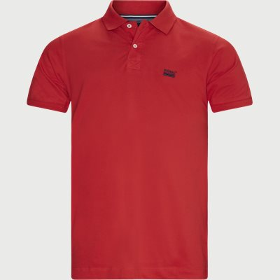Nors KM Polo T-shirt Regular | Nors KM Polo T-shirt | Rød