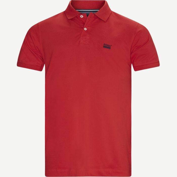Nors KM Polo T-shirt - T-shirts - Regular - Rød