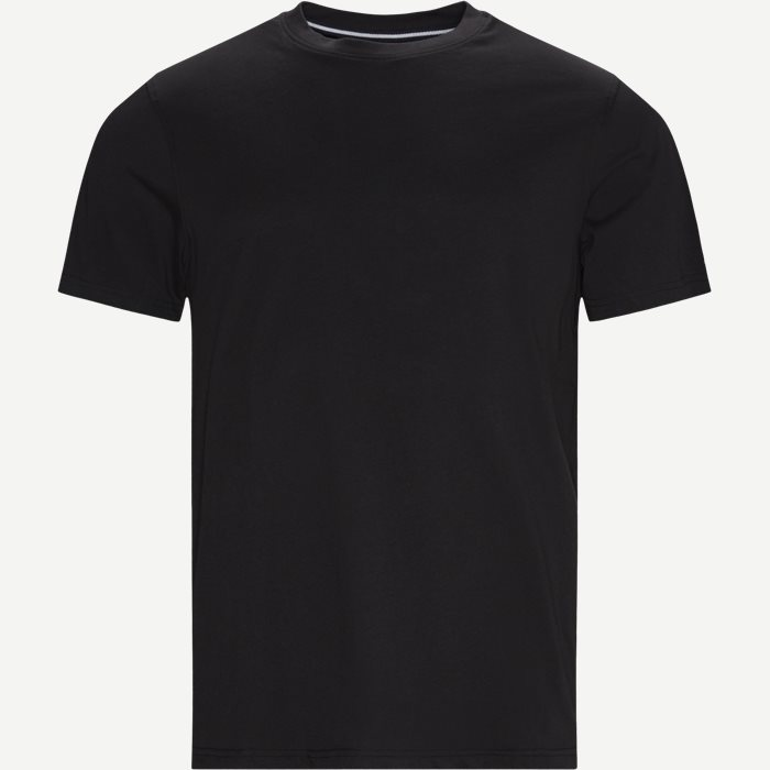 Wayne Tee - T-shirts - Regular - Sort