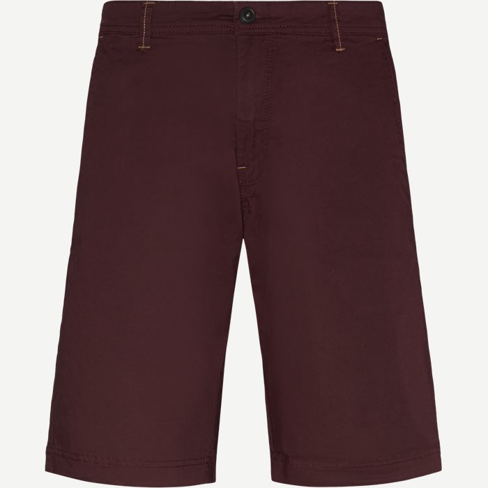Vincent Chino Shorts - Shorts - Regular - Bordeaux