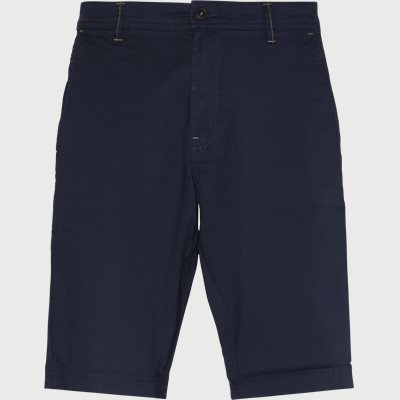 Vincent Chino Shorts Regular | Vincent Chino Shorts | Blå