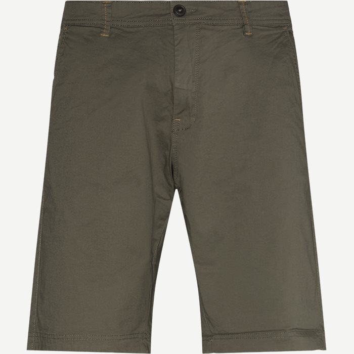 Vincent Chino Shorts - Shorts - Regular - Army