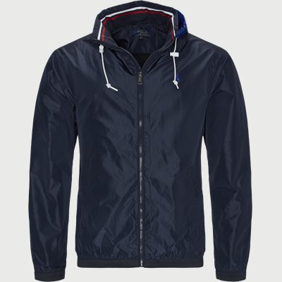 Stow-Away Hood Jacket Regular | Stow-Away Hood Jacket | Blå