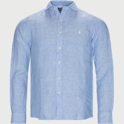 Linen Shirt Slim fit | Linen Shirt | Blå