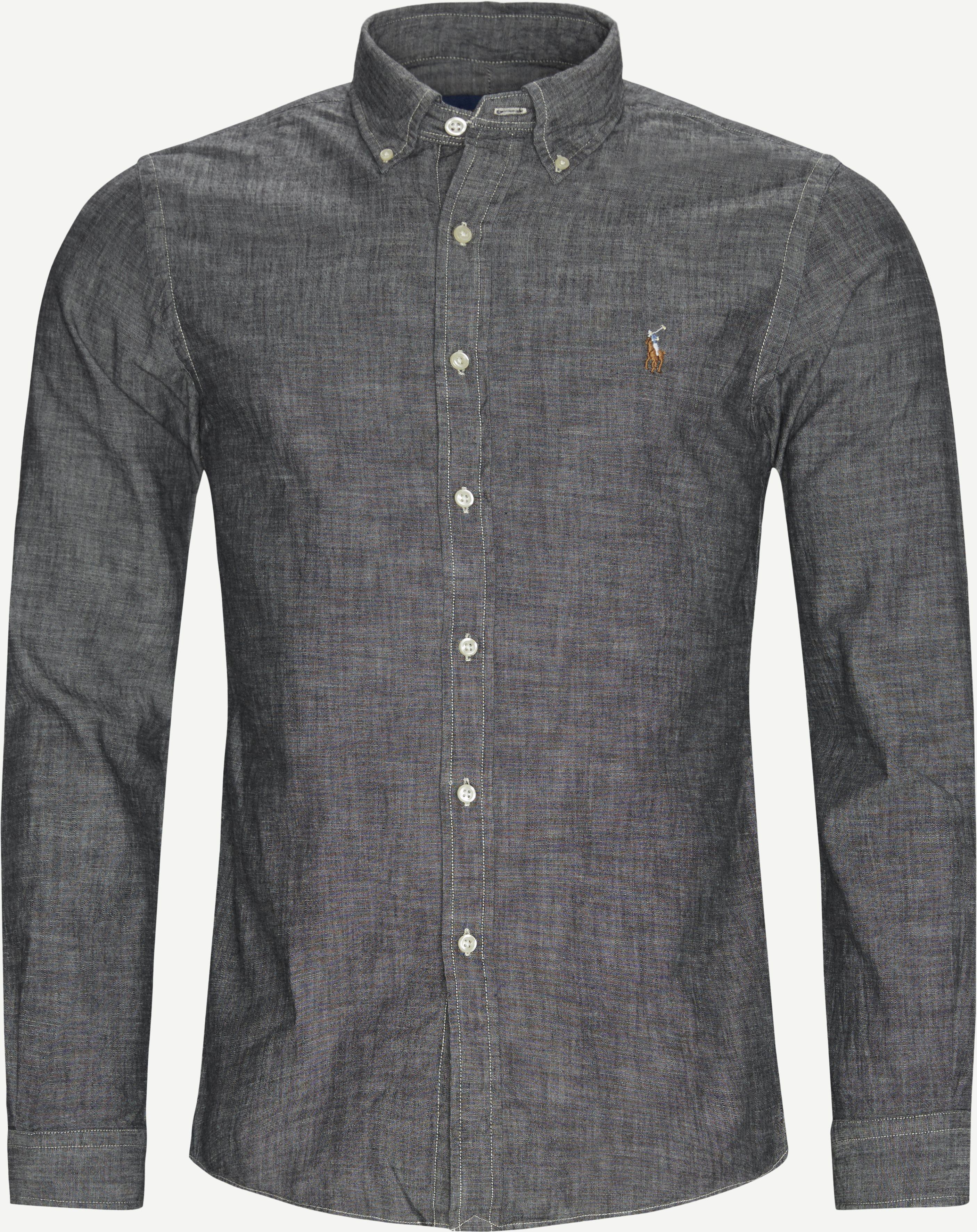 Shirts - Slim - Grey